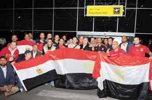 شاشات عملاقة بالشوارع لتيسير مشاهدة مباراة مصر وغانا