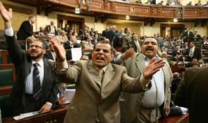 مجلس الشعب وافق على بناء الجدار العازل بين مصر و غزة باعتباره حق مشروع