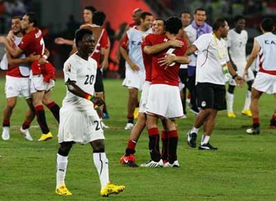 فرحة منتخب مصر | صور و فيديو