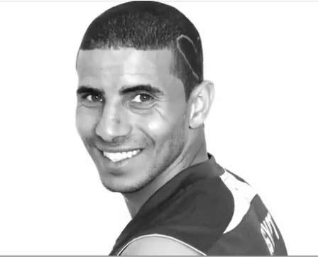 محمد زيدان لاعب منتخب مصر حلاق في المانيا