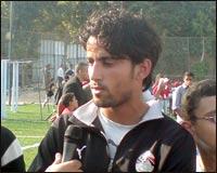 محمود فتح الله لاعب منتخب مصر و الزمالك
