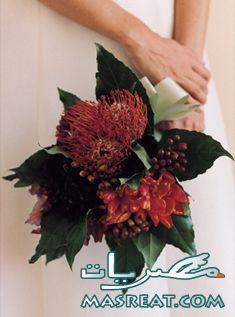بوكيه ورد للعروسة