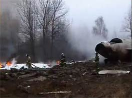 مقتل رئيس بولندا في حادثة تحطم طائرة في روسيا | فيديو