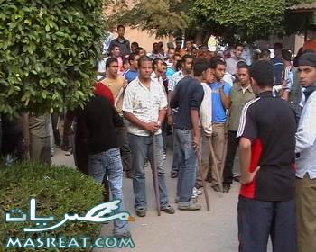 قرية ابو خليفة بـ الاسماعيلية تحت حصار الصعايدة والاعراب