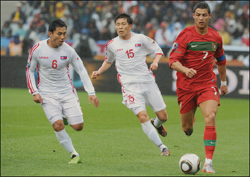 اهداف مباراة البرتغال وكوريا الشمالية التاريخية في مونديال جنوب افريقيا