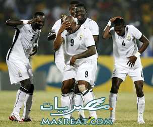 اهداف مباراة امريكا و غانا بتوقيع برينس النجوم السوداء