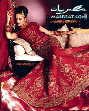 فساتين زفاف ستايل هندي