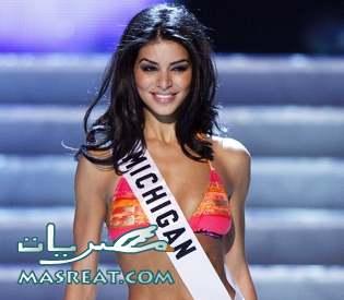 رئيس لبنان وسعد الحريري يريدون التعرف على ملكة جمال امريكا ريما فقيه