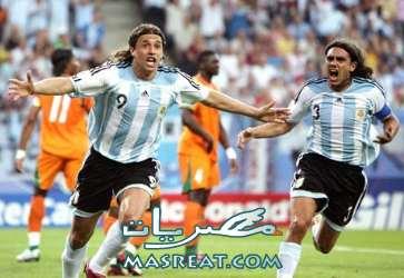 مشاهدة مباراة الارجنتين و المكسيك