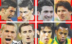 نجوم كأس العالم 2010
