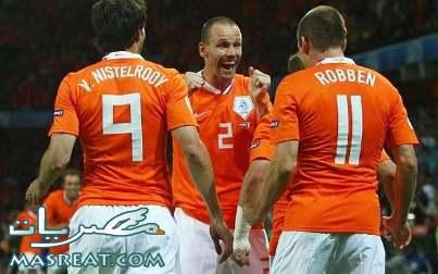 اهداف مباراة هولندا و اوروجواي