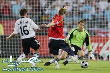 مشاهدة مباراة المانيا و اسبانيا