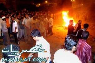حادثة العريش شمال سيناء : ملثمين يطلقون النار على المواطنين