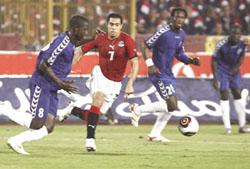 مشاهدة مباراة مصر والنيجر