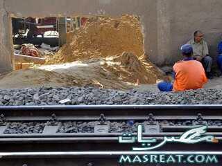 هبوط و انهيار ارضي في مترو المعادي حلوان