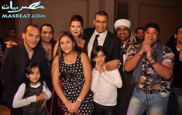حفلة عيد ميلاد زوجة عصام الحضري