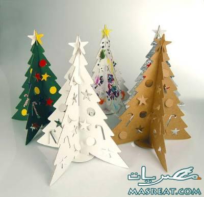 صور اشكال تزيين شجرة عيد الميلاد