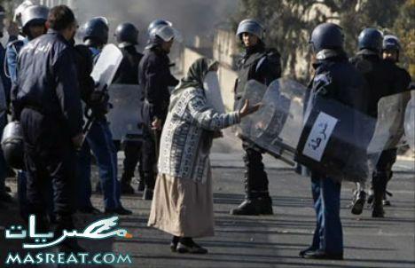 قتيلين و احداث شغب في الجزائر اعتراضا على ارتفاع الاسعار