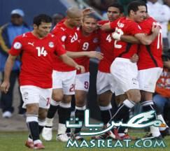 نتيجة مباراة مصر وتنزانيا
