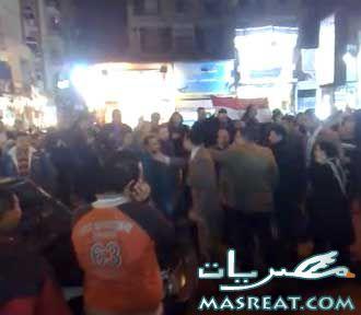 مظاهرات شبرا