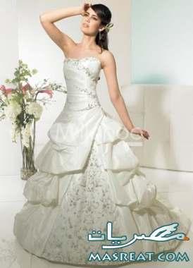 فساتين زفاف عرائس
