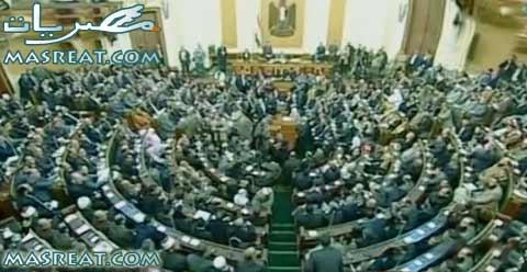 مواجهة بين الاخوان والعسكر بعد قرار حل مجلس الشعب 2012 رسمياً