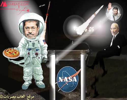 لعبة تلبيس مرشح الاخوان للرئاسة المصرية: محمد مرسي رئيساً لمصر