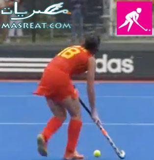 بطولة اولمبياد لندن ٢٠١٢: هوكي المرج واقتحام الفتيات لملاعب الذكور