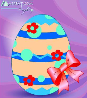 لعبة تلوين بيض شم النسيم 2019 اجمل العاب العيد الرسم على البيض