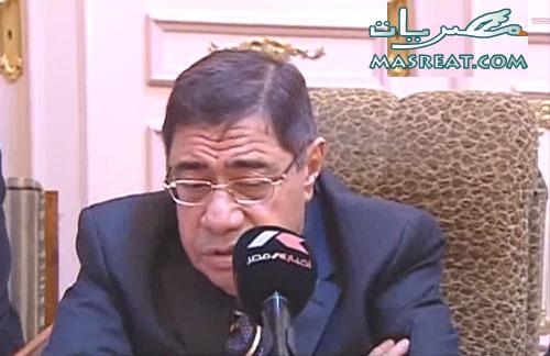 استقالة النائب العام المصري اليوم