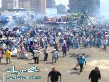 الان آخر اخبار احداث فض اعتصام رابعة العدوية مباشر من مصر اليوم