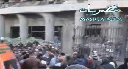 انفجار مبنى مديرية امن القاهرة اليوم