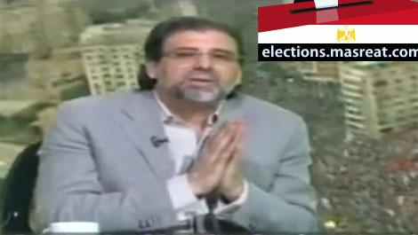 خالد يوسف: انا مع ترشح الفريق السيسي للانتخابات الرئاسية القادمة