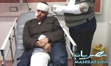 حادثة محاولة اغتيال ابو حامد رئيس جبهة مؤيدي الفريق السيسي