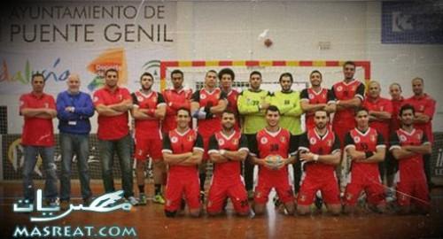 المنتخب المصري لكرة اليد 2014