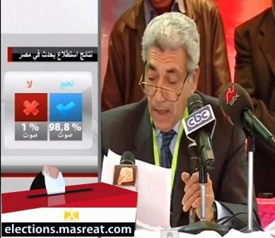 نتيجة الاستفتاء في الاسكندرية، نتائج استفتاء الدستور في مصر