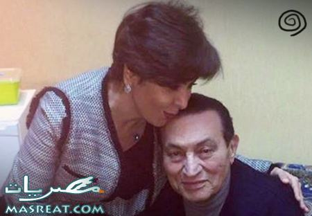 بالصور لقاء الرئيس السابق حسني مبارك مع الصحفية الكويتية اليوم