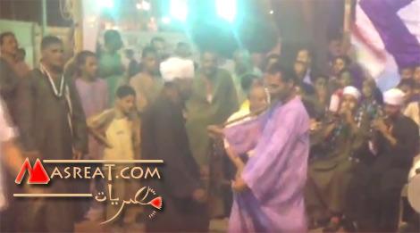 احتفال في الصعيد بقنا بالمشير عبد الفتاح السيسي رئيسا لمصر