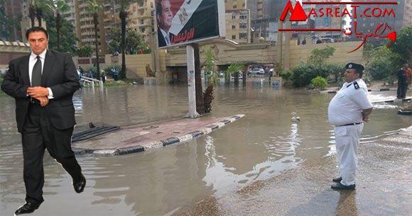 امطار الاسكندرية تسببت في استقالة هاني المسيري محافظ الاسكندرية