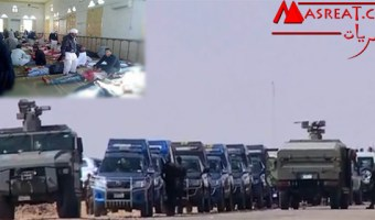مجزرة مسجد الروضة بشمال سيناء خلال صلاة الجمعة