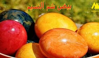 بيض شم النسيم 2019