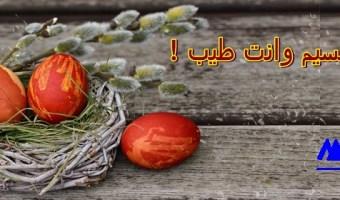 بطاقات شم النسيم 2019