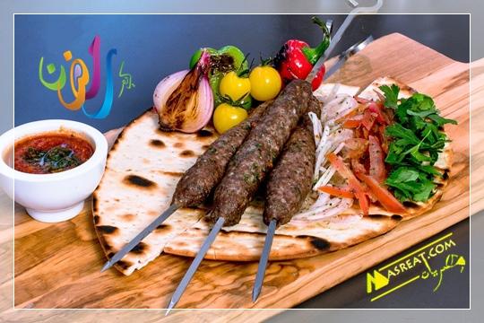 وجبة افطار رمضانية مشاوي