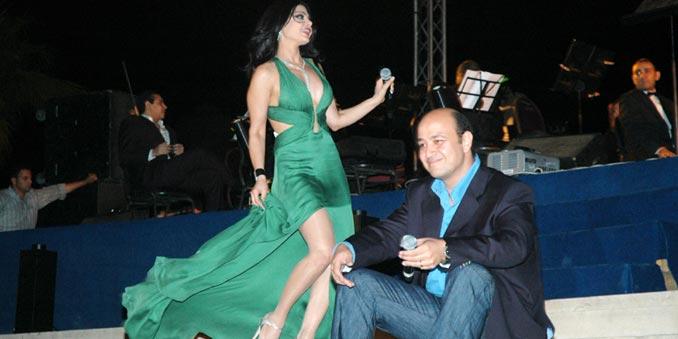 عمرو اديب يقرر الاعتزال وتفاصيل علاقته مع هيفاء وهبي