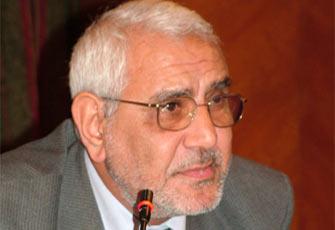 قضية التنظيم الدولي للاخوان المسلمين التحقيق مع عبد المنعم ابو الفتوح
