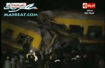 صور حادث العياط و حادثة قطار القاهرة و قطار الفيوم