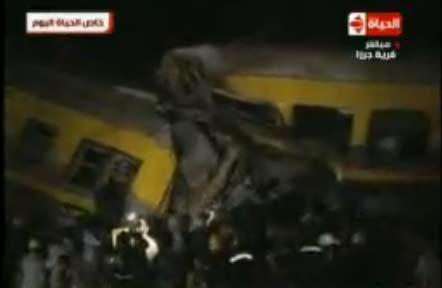 المصابون في حادث قطار العياط : شاهدنا الموت بأعيننا واسترجعنا ذكريات كارثة قطار الصعيد
