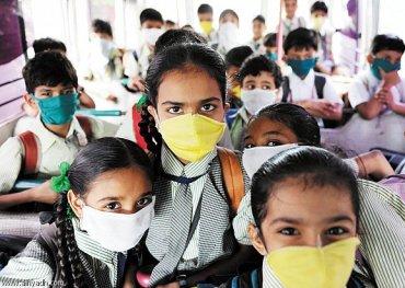 احتجاز الطلاب بسبب انفلونزا الخنازير