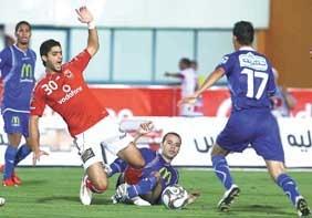 مباراة الاهلي مع المنصورة في الدوري المصري