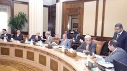 مجلس الوزراء و بدء الدراسة